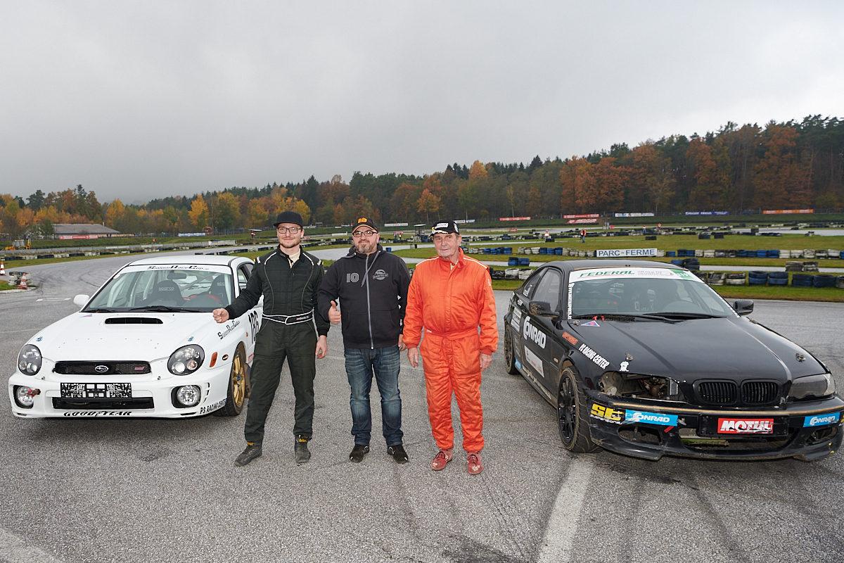 Sieger Rallye historisch 4 WD