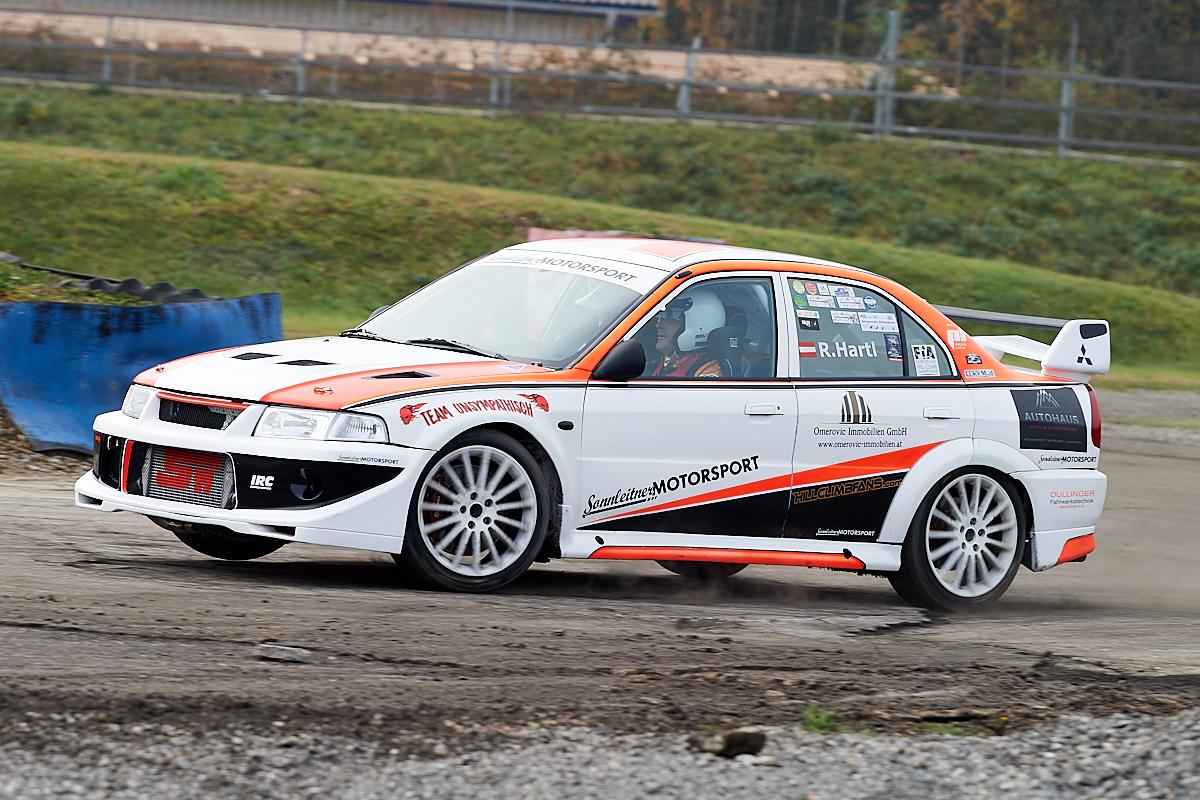 Roland Hartl - Mitsubishi Evo 6