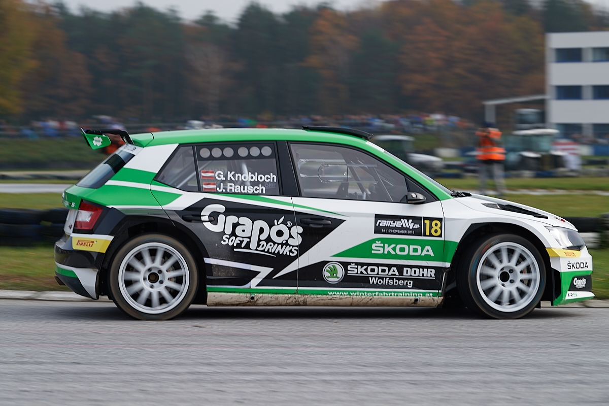 Günther Knobloch - Skoda Fabia R5