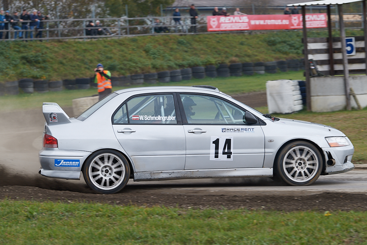 Wolfgang Schmollgruber Mitsubishi Evo 9